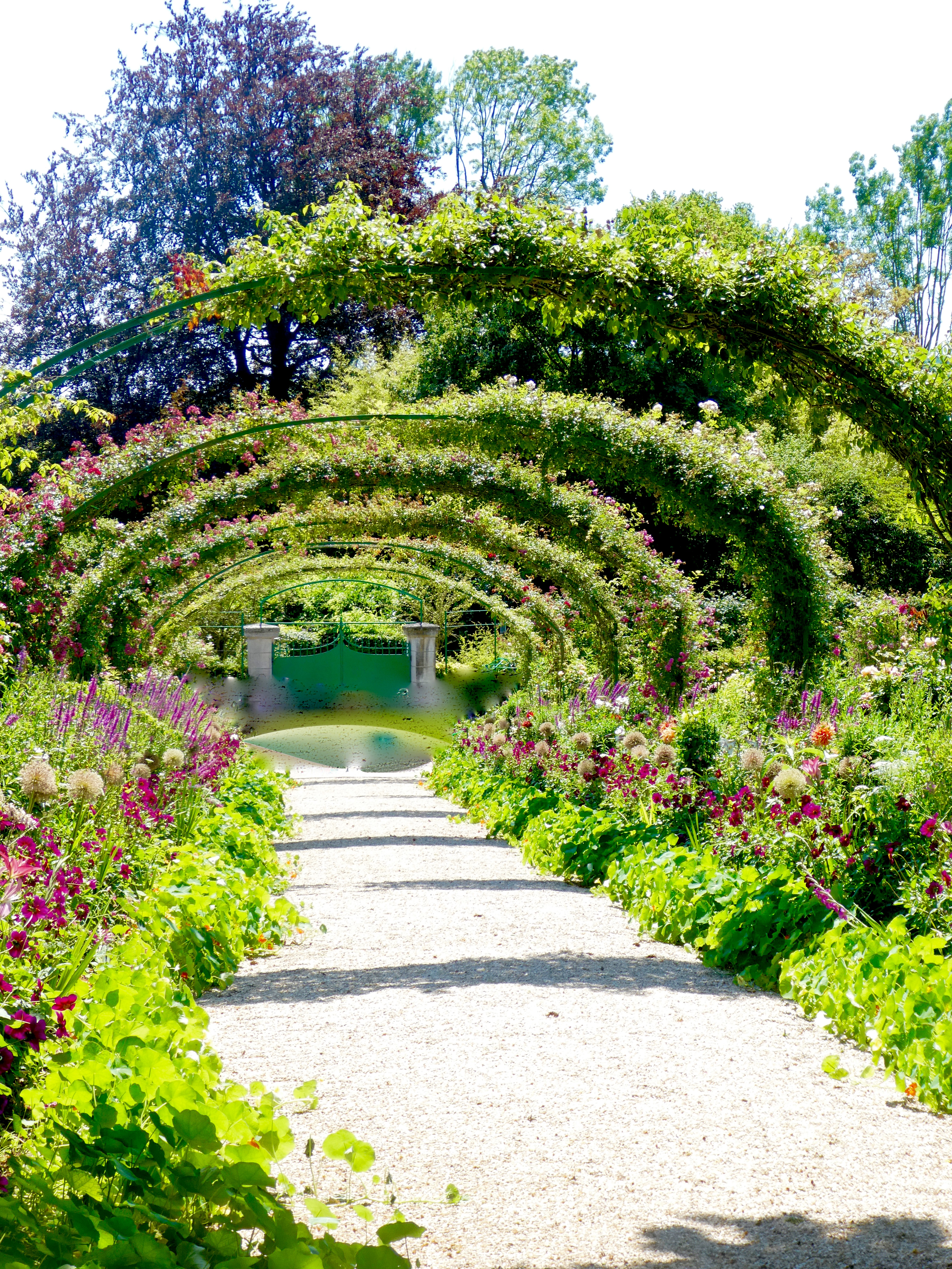 The Gardens Were So Beautiful, And In True Monet Style, All The Flowers  Were Mixed Together And Left To Their Own Devices! Although There Was Order  And ...